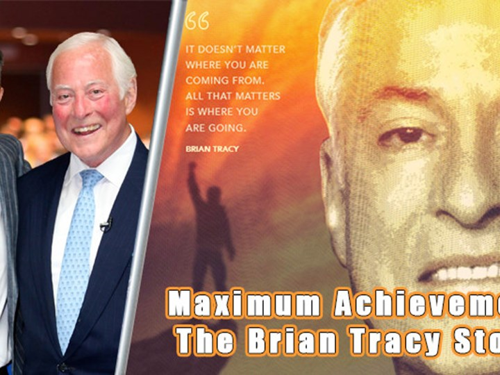 Maximum Achievement: The Brian Tracy Story (premiere film & networking night)
